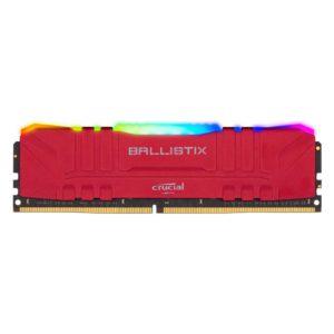 Memoria RAM 8GB 3200MHz DDR4 Crucial Ballistix Red RGB BL8G32C16U4RL