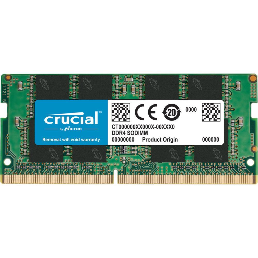 Crucial Memoria Ram Ddr4 16Gb 3200Mhz So-Dimm, Cl22, 1.2V CT16G4SFRA32A