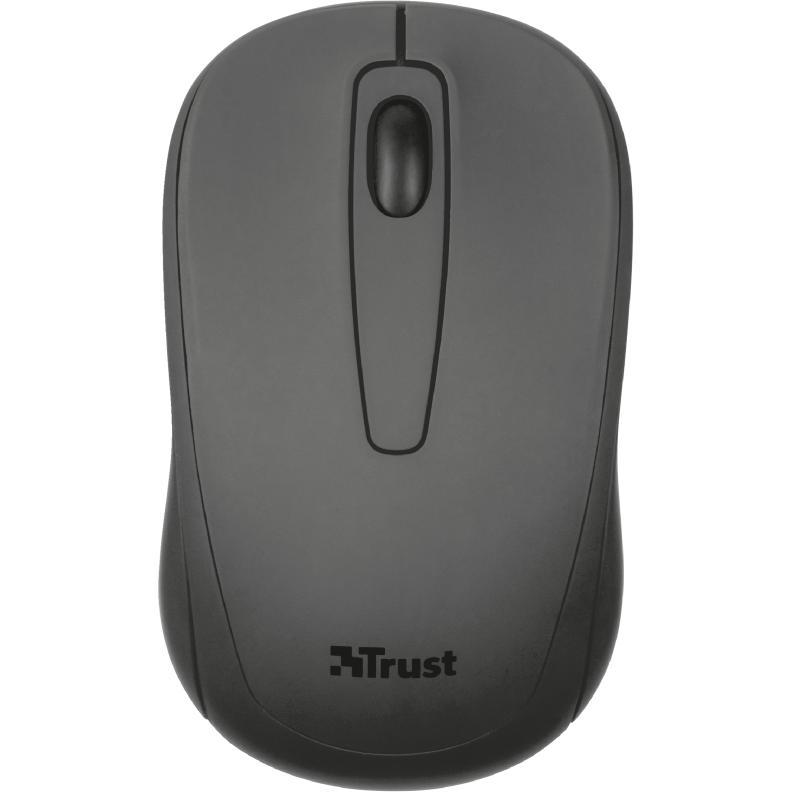 Trust Mouse Ziva Inalámbrico Compact, Microrreceptor Usb 21509