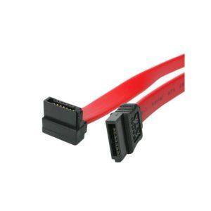 Startech 18In Sata To Right Angle Sata Cable SATA18RA1