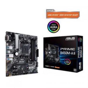 Asus Placa Madre Prime B450M-A Amd Am4 Sata 6Gb/S Micro Atx PRIMEB450M-AII