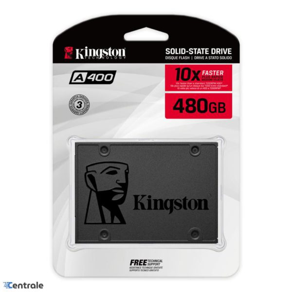 Disco SSD 480GB Kingston A400 SATA3 2.5″ SA400S37/480G