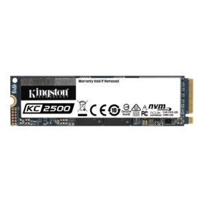 Disco SSD NVMe 500GB Kingston KC2500 PCIe M.2 2280 SKC2500M8/500G