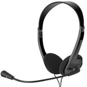 Xtech Audífonos Negro Con Microfono XTS-220