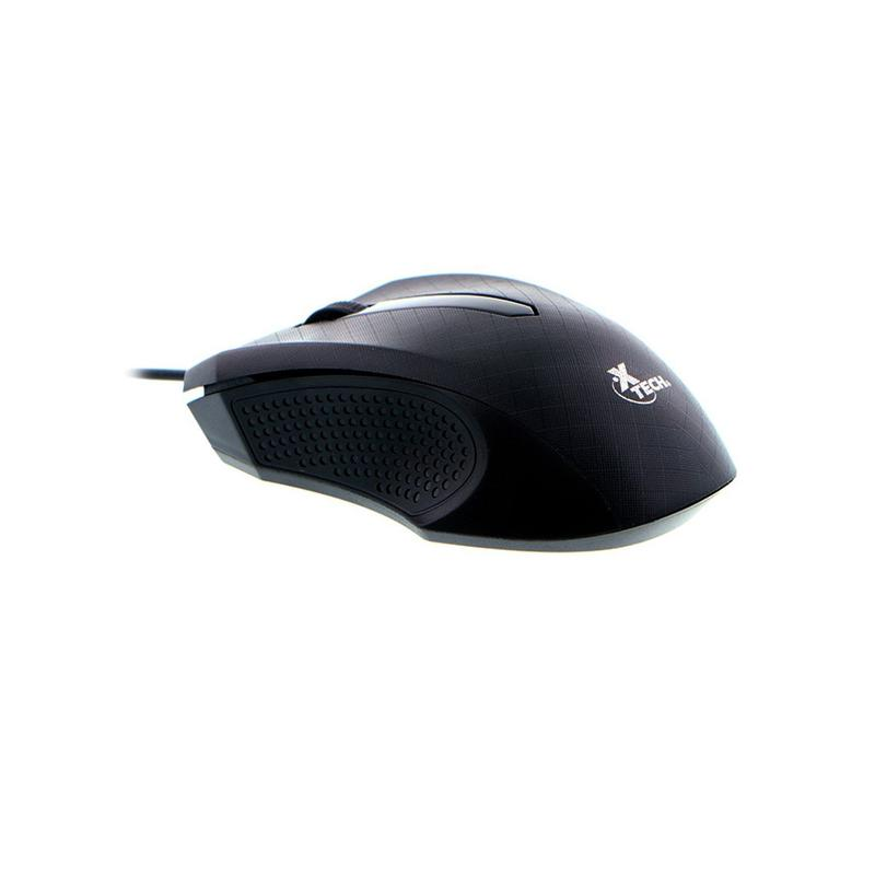 Xtech Optical Mouse Usb Wired 1000 Dpi XTM-165