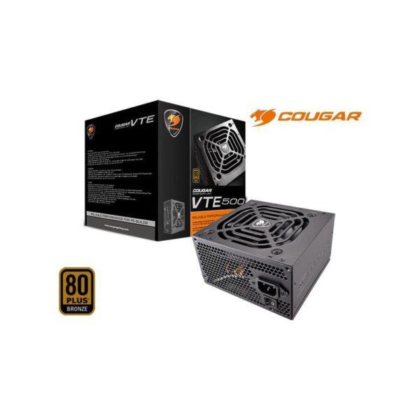 Cougar Compucase Enterprise Power Supply 500 Watt 12 V 31VE050.0013P