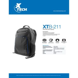 Xtech Mochila Para Notebook 15.6