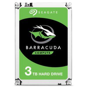 Seagate Disco Duro 3 Tb Interno | Barracuda Sata 6Gb/S ST3000DM007