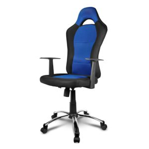 Xtech Drakon Sport Chair Gaming Blue & Black Color Max XTF-EC129
