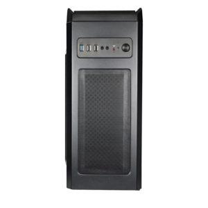 Xtech Delirium Chasis Gamer Tipo Torre Atx/Microatx Black XT-GMR1